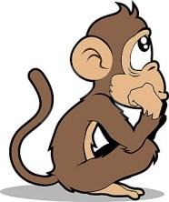 anak monyet aja miKIR ..