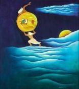 membawa bulan